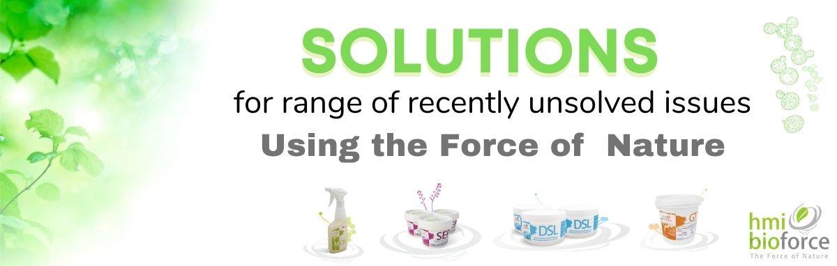 Sewage treatment solution